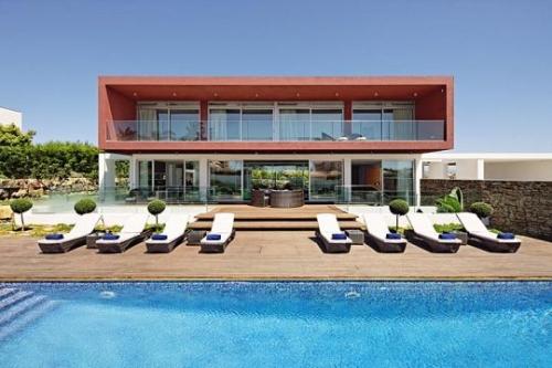 Villa mara huur uw vakantievilla met zwembad in portugal algarve lagos - Strand zwembad natuursteen ...
